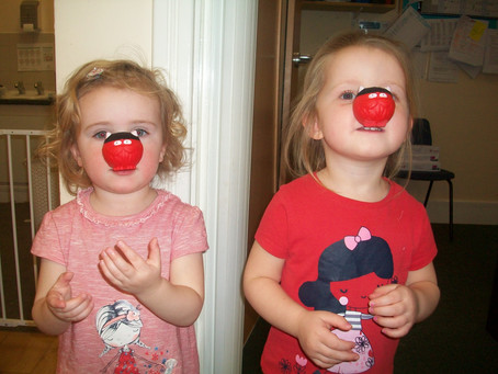 Rosedene Nurseries raise over £800 for Comic Relief in Red Nose Day fundraising