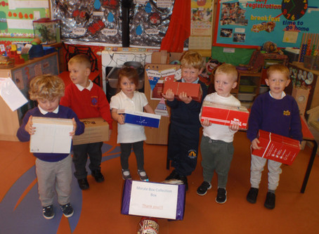 Rosedene Guisborough's Shoe Box Appeal