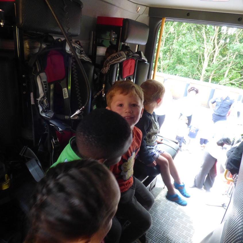 Rosedene Nursery in Hemlington gets Fire Service Visit (14)