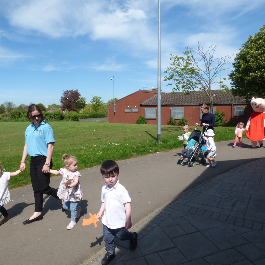 Rosedene Nurseries Hemlington Childrens Centre Muddy Puddle Walk 2 (7)