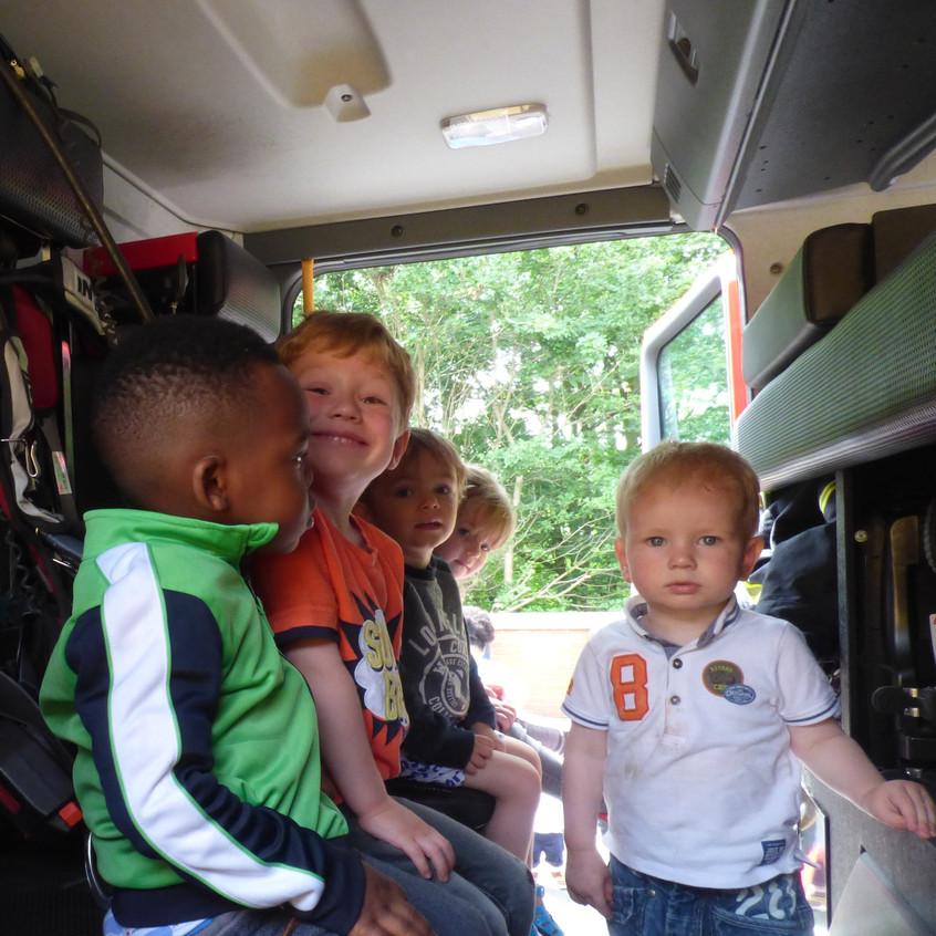Rosedene Nursery in Hemlington gets Fire Service Visit (16)