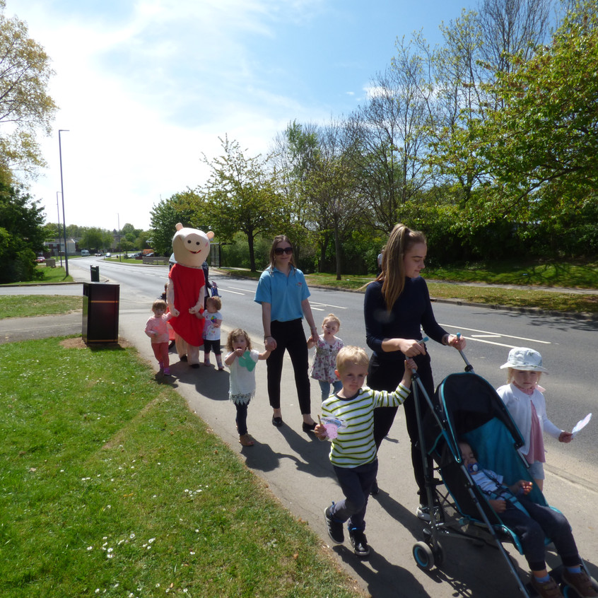 Rosedene Nurseries Hemlington Childrens Centre Muddy Puddle Walk 2 (6)
