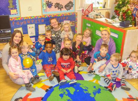 Rosedene Nurseries raise over £800 for Children in Need