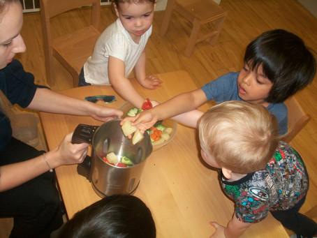 Making Vegetable Soup
