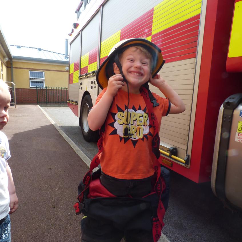 Rosedene Nursery in Hemlington gets Fire Service Visit (22)