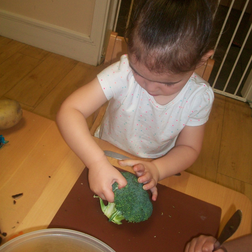 making vegetable soup (9)