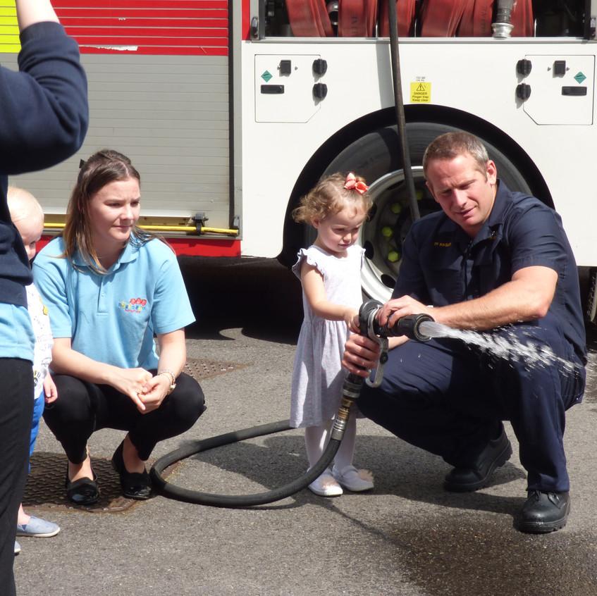 Rosedene Nursery in Hemlington gets Fire Service Visit (30)