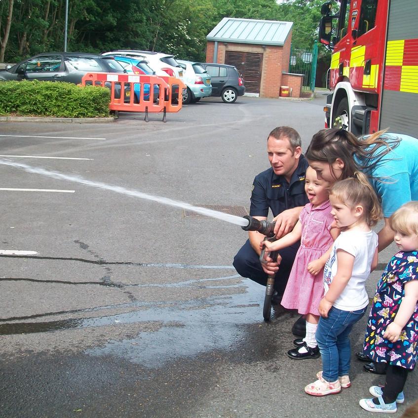 Rosedene Nursery in Hemlington gets Fire Service Visit (36)