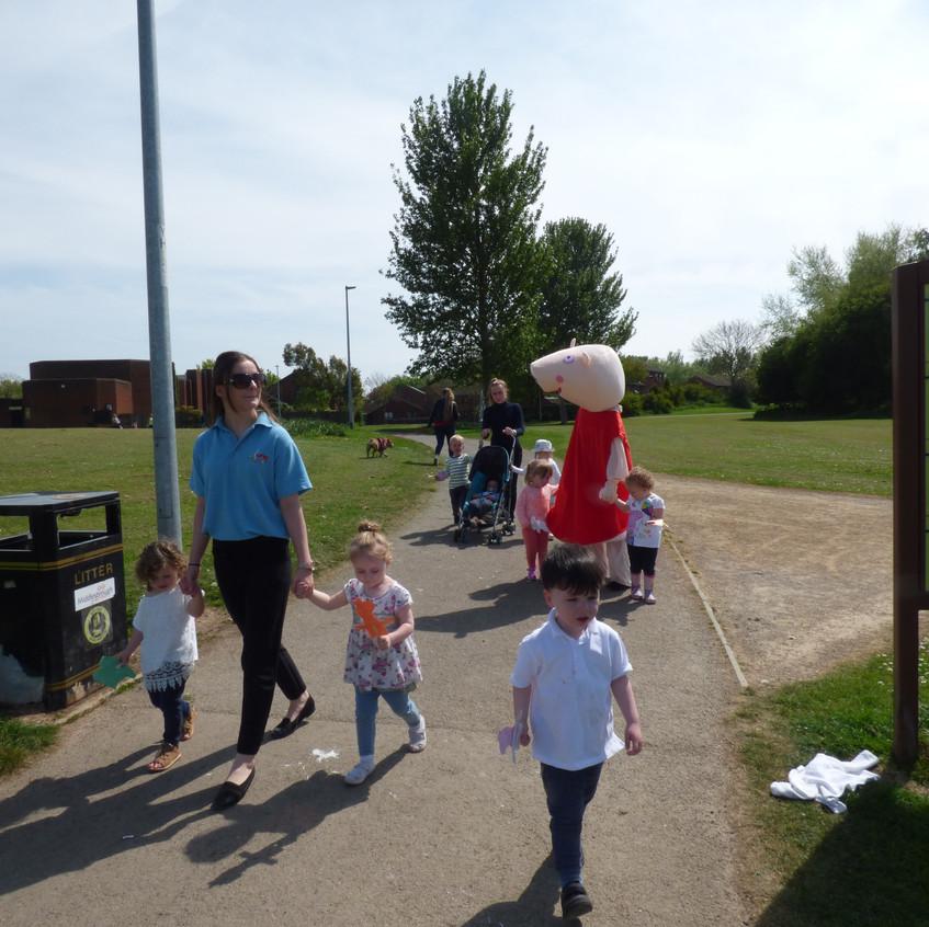 Rosedene Nurseries Hemlington Childrens Centre Muddy Puddle Walk 2 (11)