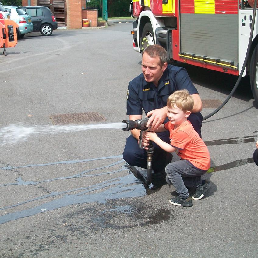 Rosedene Nursery in Hemlington gets Fire Service Visit (35)