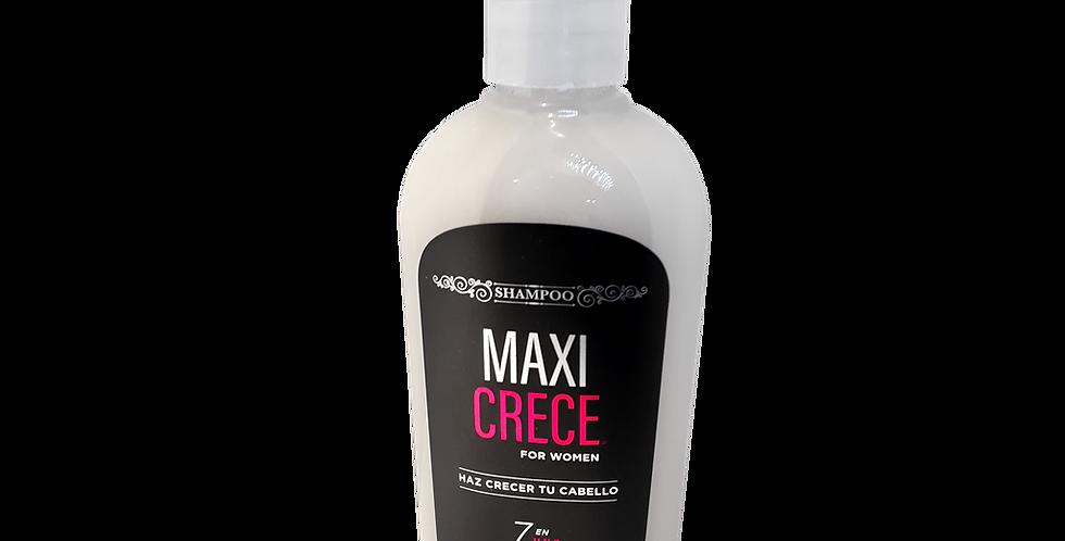 Shampoo MAXI CRECE 7 en 1 para mujer 250 ml