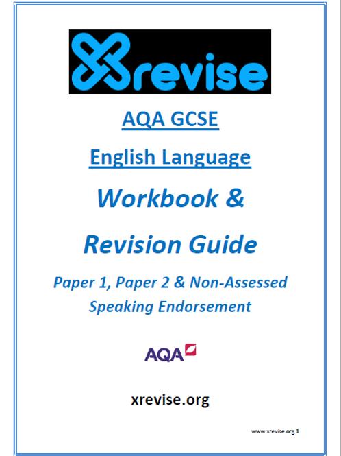 XREVISE - GCSE English Language Workbook & Revision Guide