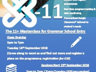 X-11 - 11+ Masterclass for Grammar School Entry