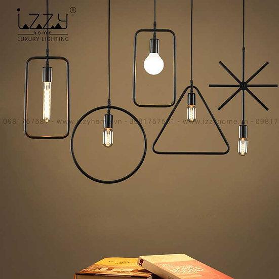 Đèn Hình Học Thả Trang Trí