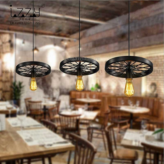 Đèn Sắt Bánh Xe 1 Vòng LGC122