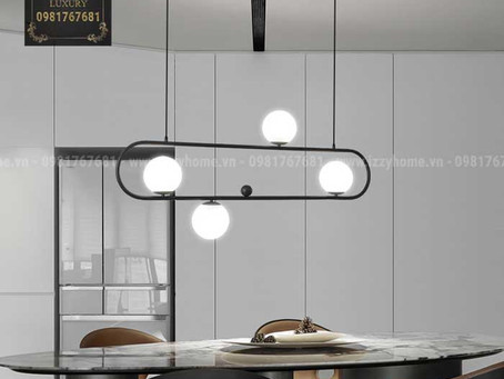 5 mẹo lựa chọn đèn bàn ăn cực chuẩn cho nhà thêm xinh