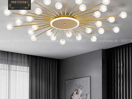 Trần thấp nên sử dụng mẫu đèn nào?