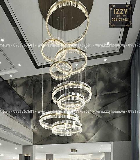Đèn Chùm Pha Lê Cao Cấp LUX018