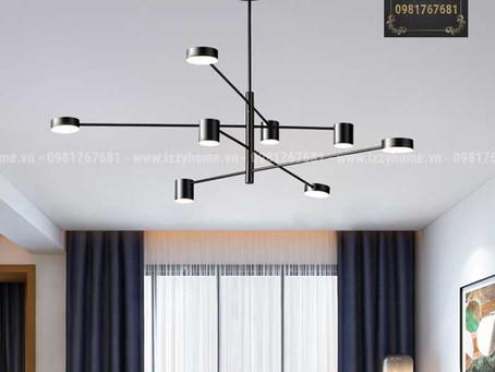 10 Lựa chọn đèn chùm phòng khách hiện đại giá rẻ