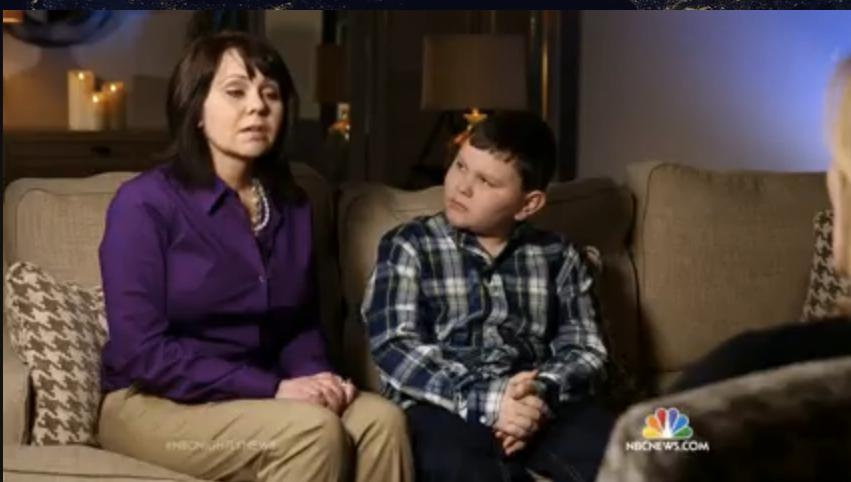NBC News - Boy remembers past life