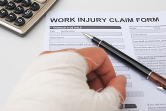 hurted hand and work injury claim form w