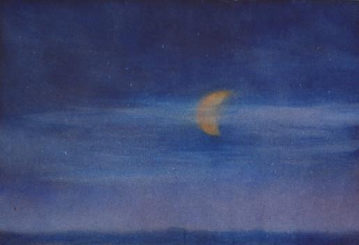 La lune veille sur nos nuits
