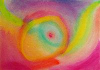 Art-thérapie pour les enfants, avec l'aquarelle, créativité.