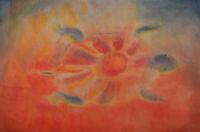 peinture relationnelle, aquarele sur papier mouillé