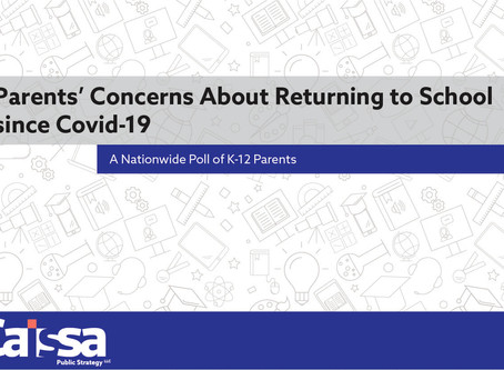 Parents' Concerns About Returning to School since Covid-19