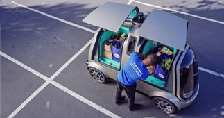 This self-driving car could deliver groceries to your doorstep