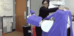 Why scientists are teaching this burly robot to hug