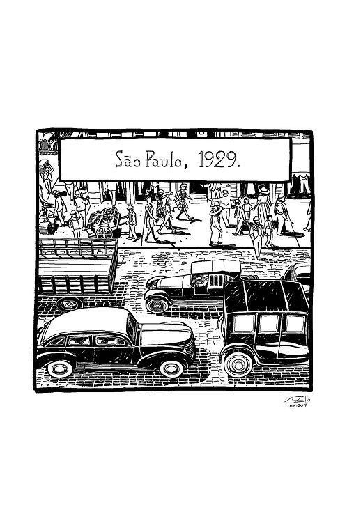 Macunaíma - São Paulo 1929 | Trânsito 2
