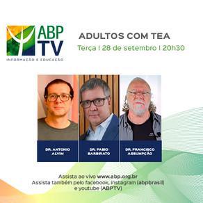 ABP TV discute o diagnóstico de Transtorno do Espectro Autista em adultos