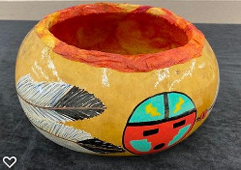 Southwest Gourd Bowl