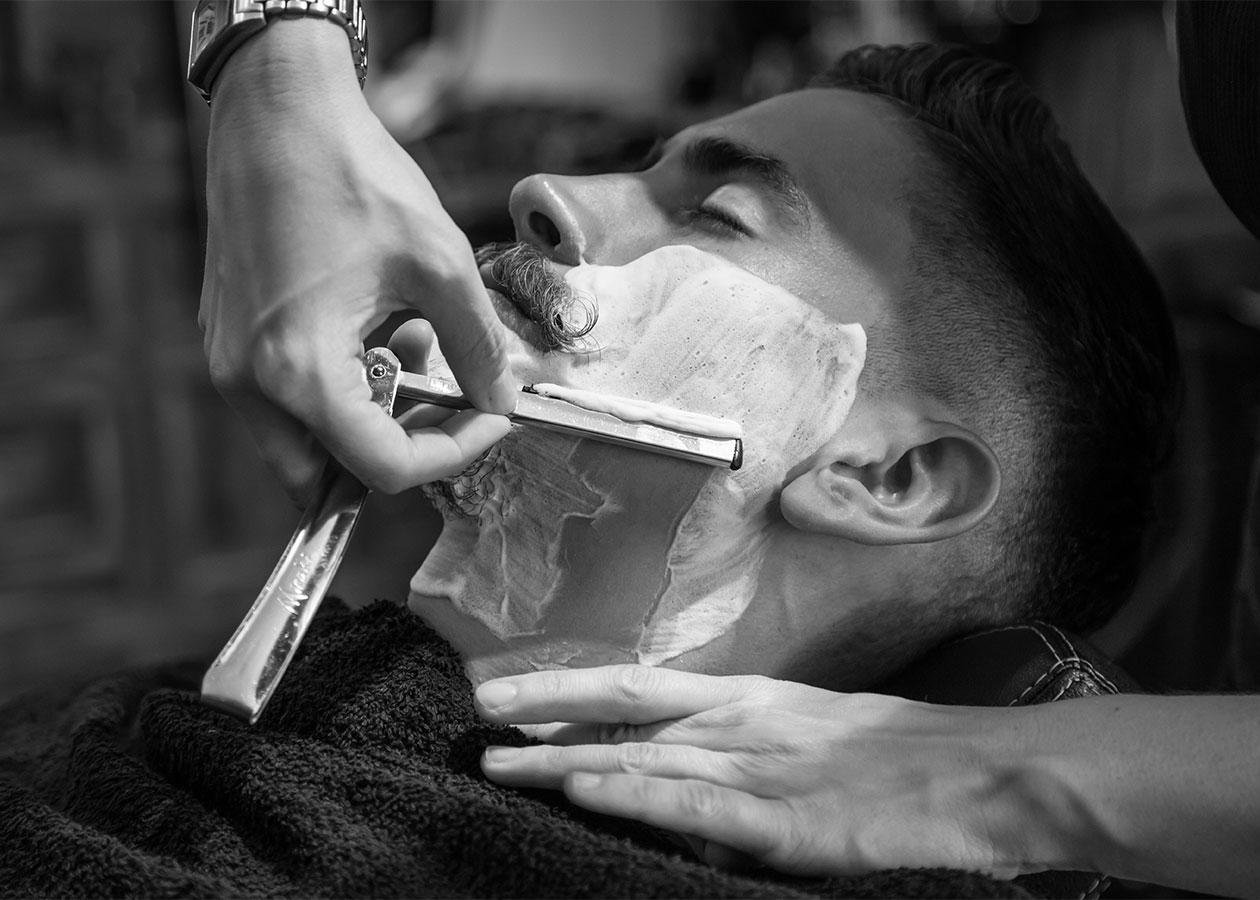 Hot Towel Shave
