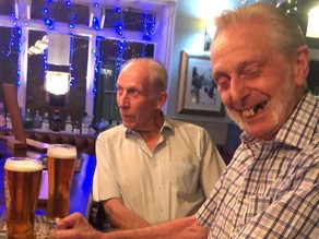 The Canterbury brothers in their 80s who can't wait to get back inside a pub