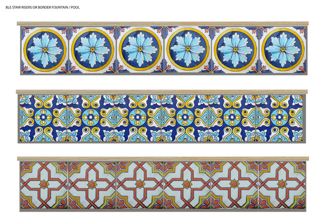 Pool Tile examples