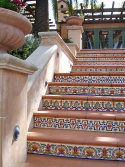 Portola: Rustic Staircase