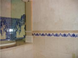 Casa Nino: Mediterranean Bathroom