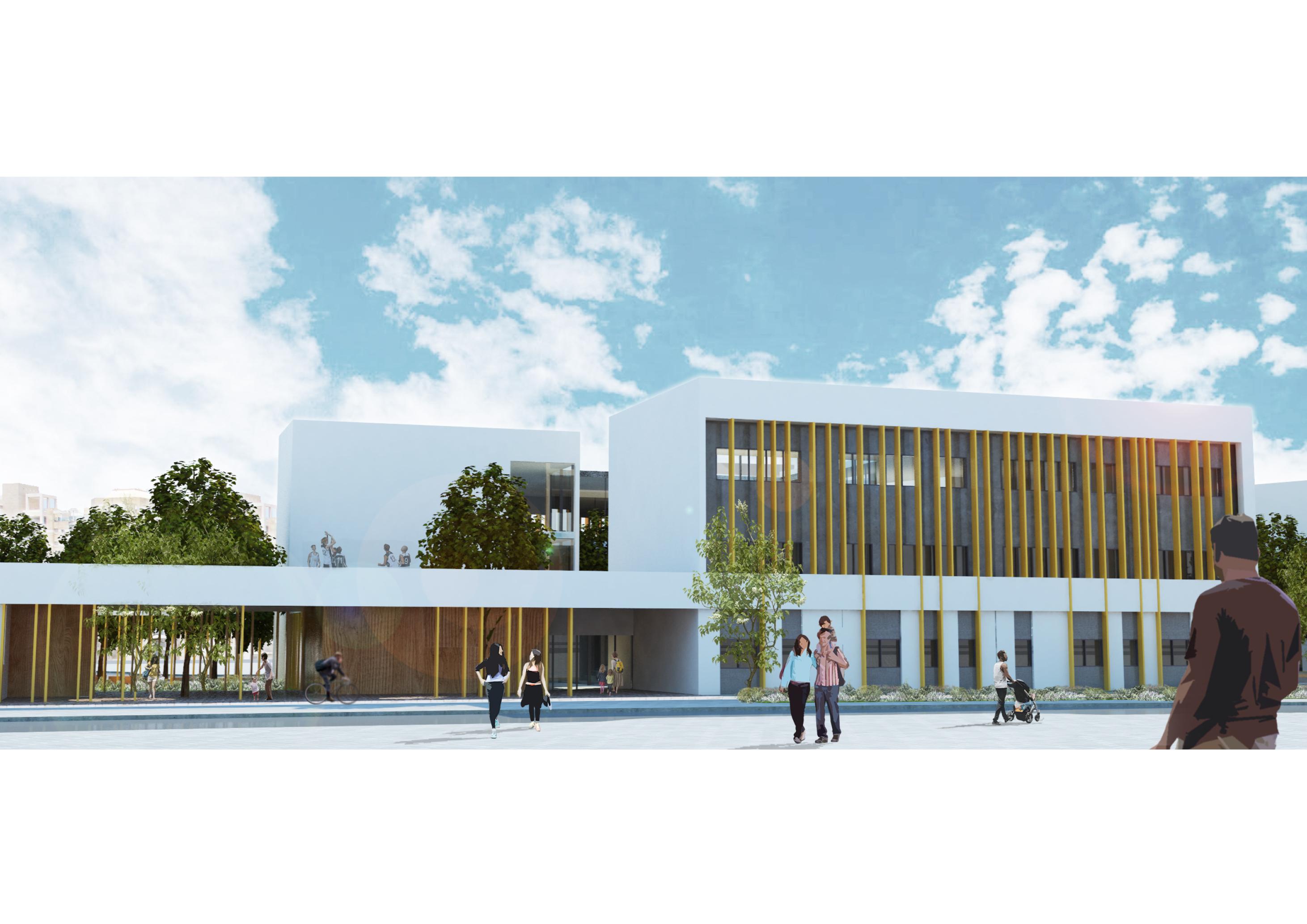 Educational Campus - Givat Shmuel