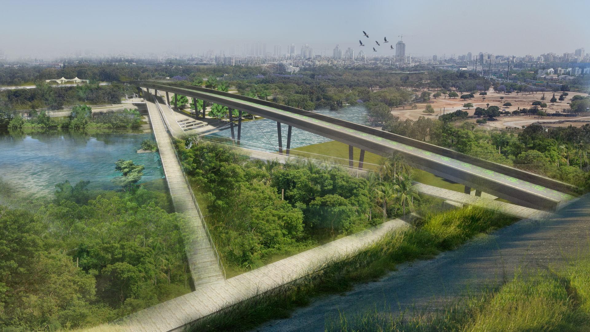 Ariel Sharon Bridge 06