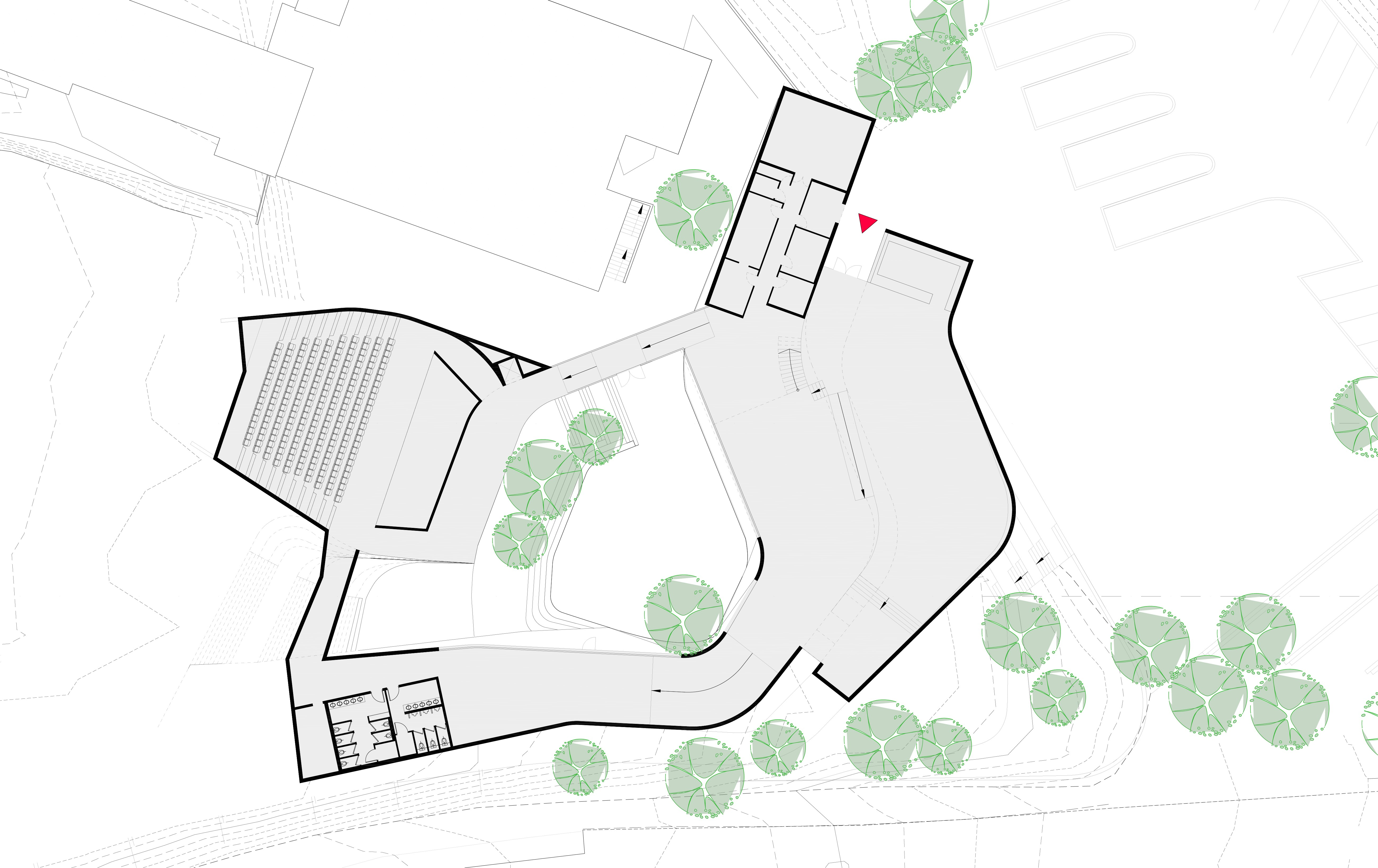 Yehuda Museum plan
