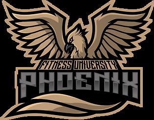 Fitness University's Mascot, The Phoenix