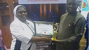 A national award to our Nicolas Barre College Ganye, in Nigeria