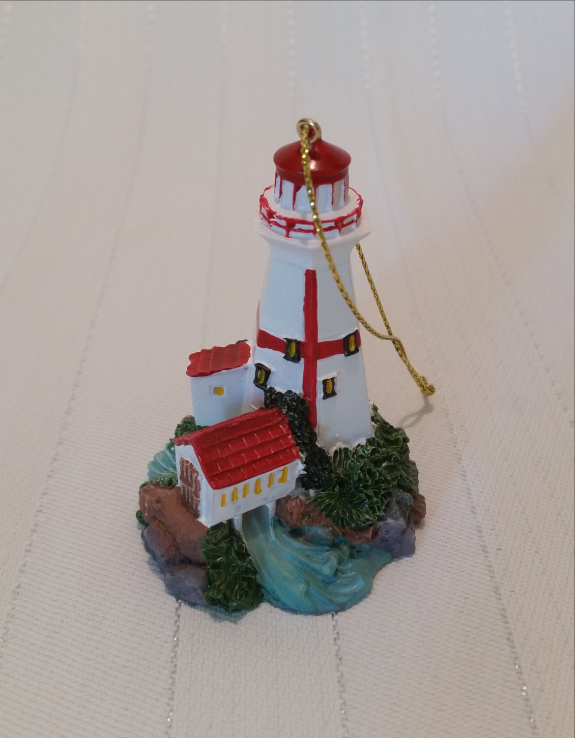 East Quoddy Lighthouse Ornament