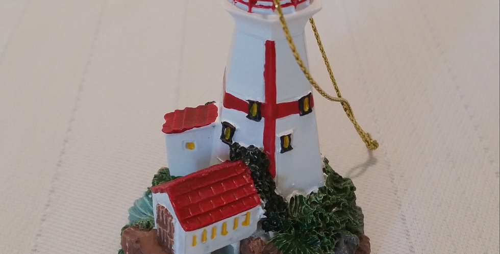 East Quoddy Light House Ornament