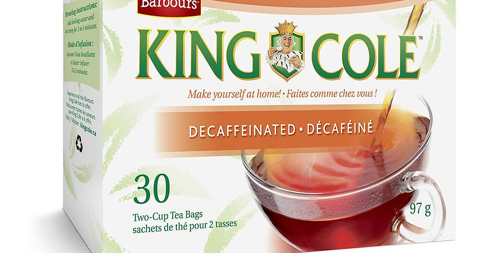 King Cole Tea- Decaffeinated