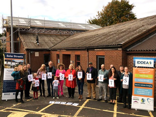 Solar Panel Success for Frome Community Project