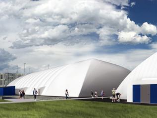 MSU Temporary Dome Bozeman, Montana