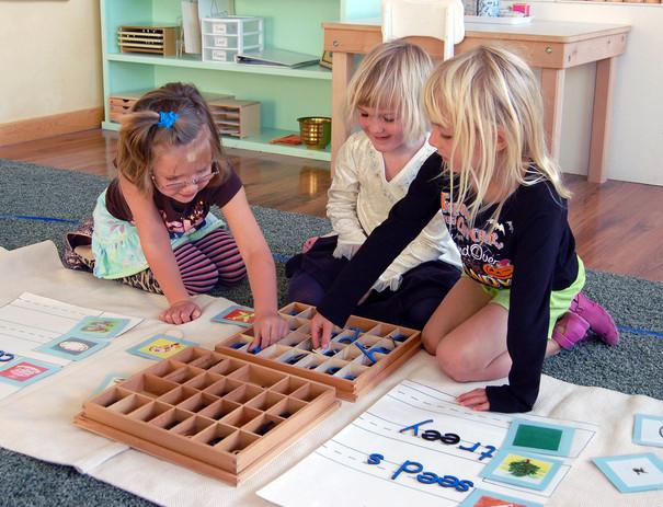 Girls word building